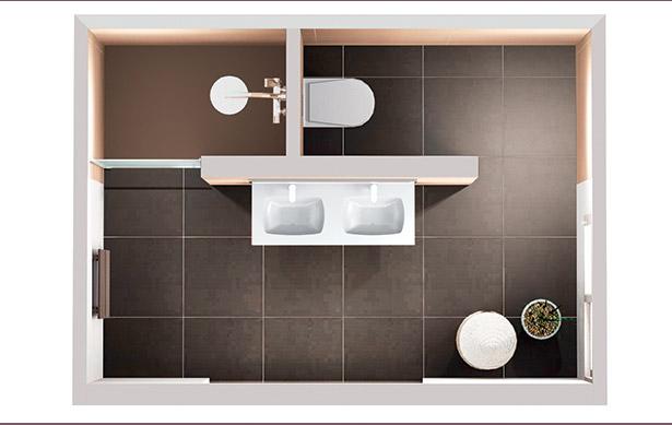 god planl sning med smarte l sninger for sm og store bad mobalpa. Black Bedroom Furniture Sets. Home Design Ideas