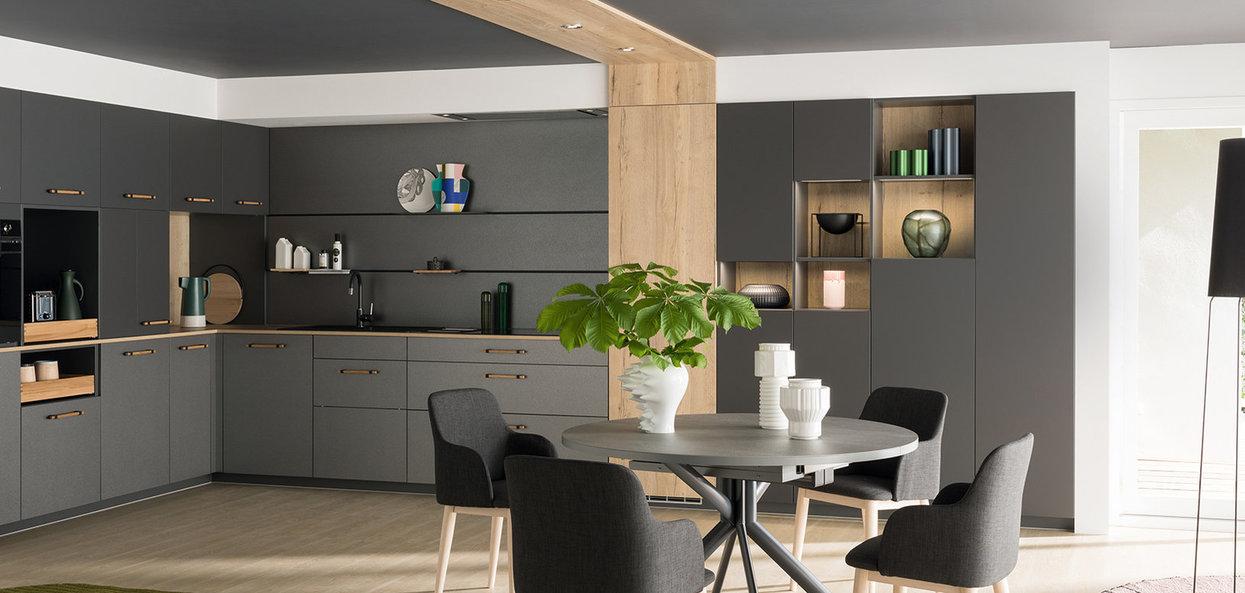Bilde Trendig kjøkken matt grå