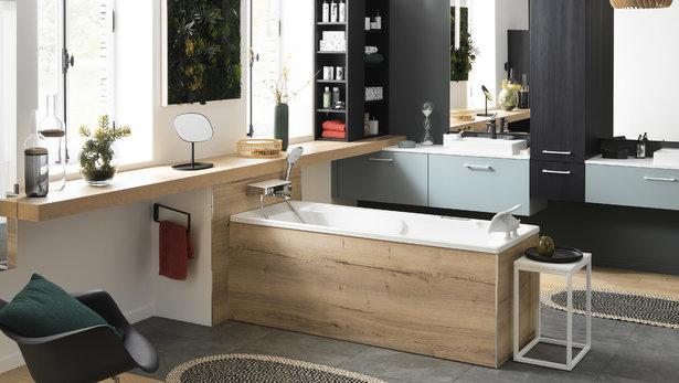 Bilde Moderne naturlig baderom