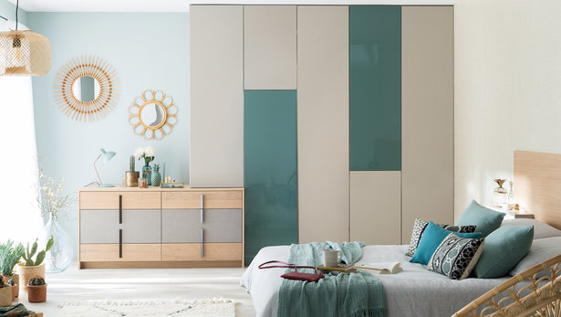 Bilde Moderne og design soverom garderobe innredning